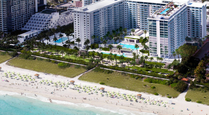 Ocean Drive Miami Beach From The Biltmore Coral Gables
